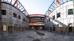 اسکلت فلزی و دیوار خشک ( Dry Wall ) نخستین مرکز طب تسکینی ( هاسپیس )