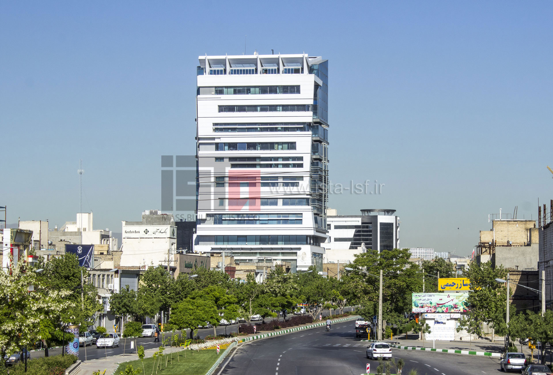 برج تجاری – اداری البان 1