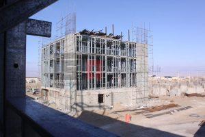 اضافه طبقه با سازه سبک LSF - ساختمان های مسکونی کارکنان کارخانه سازی مشهد