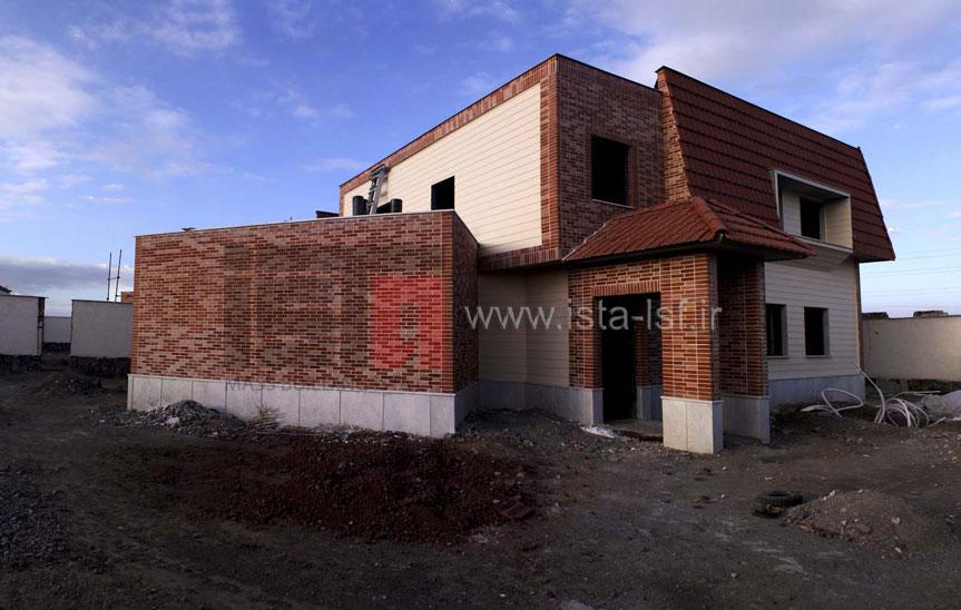 ساخت ویلای مسکونی با سازه سبک LSF