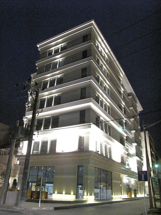 ساختمان مسکونی راشل