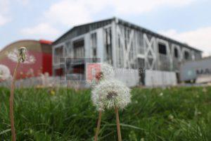 ساخت سالن ورزشی مرحوم غفوریان - ساختمان طبقاتی با سازه LSF