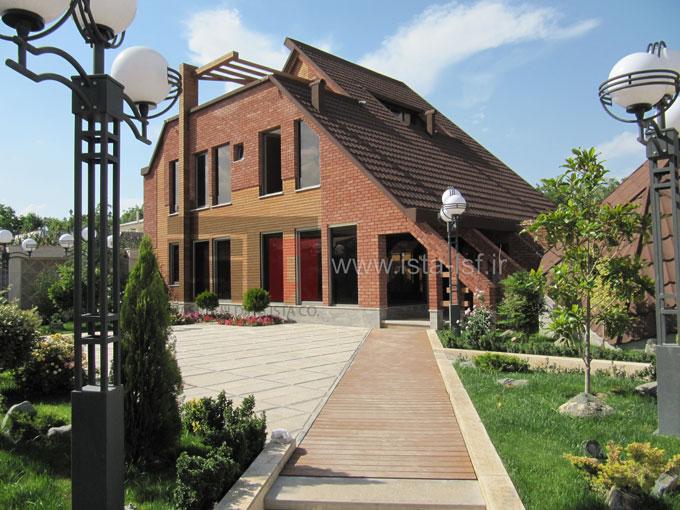 اضافه طبقه با سازه سبک LSF ویلای مسکونی